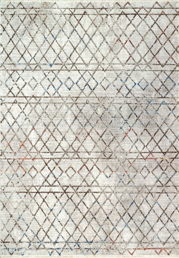 Angelo Surmelis Collection - Alea Rug 1804 (Taupe/Multi)