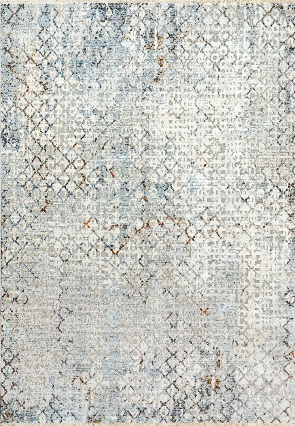 Angelo Surmelis Collection - Alea Rug 1805 (Taupe/Blue/Cream)