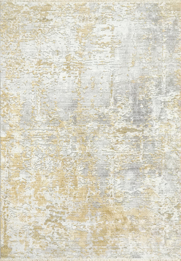 Angelo Surmelis Collection - Alea Rug 1801 (Taupe/Gold)