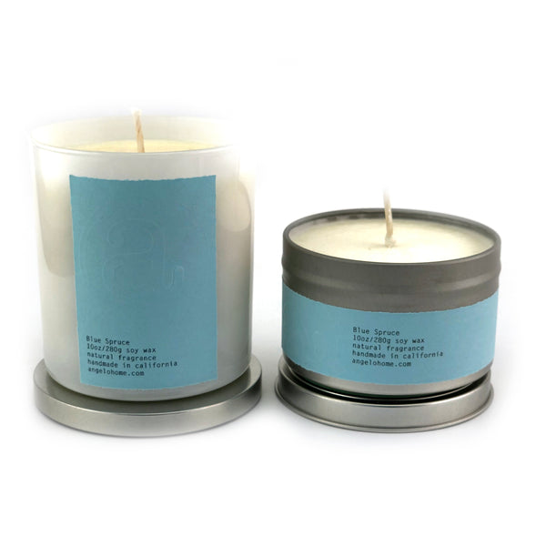angelo:HOME Blue Spruce Christmas Tree Scented Candle