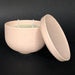e.baran - Limited Edition Handmade Pottery Candle - Bowl - Rose Pedals - angelo:HOME
