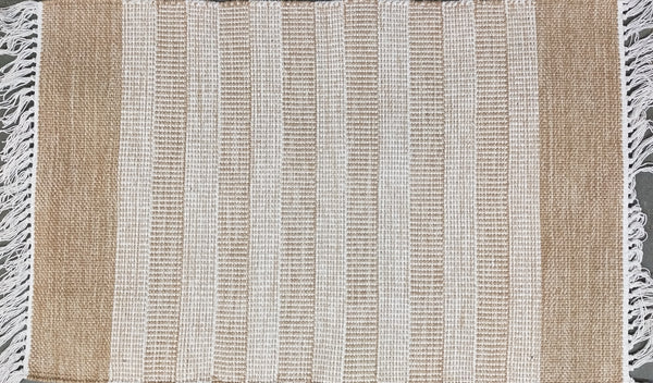 Angelo Surmelis Collection - Crux Throw Rug 1007 (Beige)