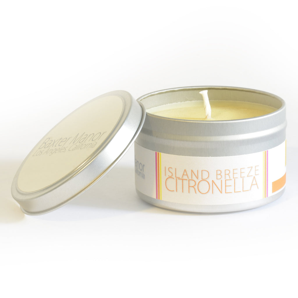Baxter Manor - Modern Candle - Island Breeze Citronella - angelo:HOME