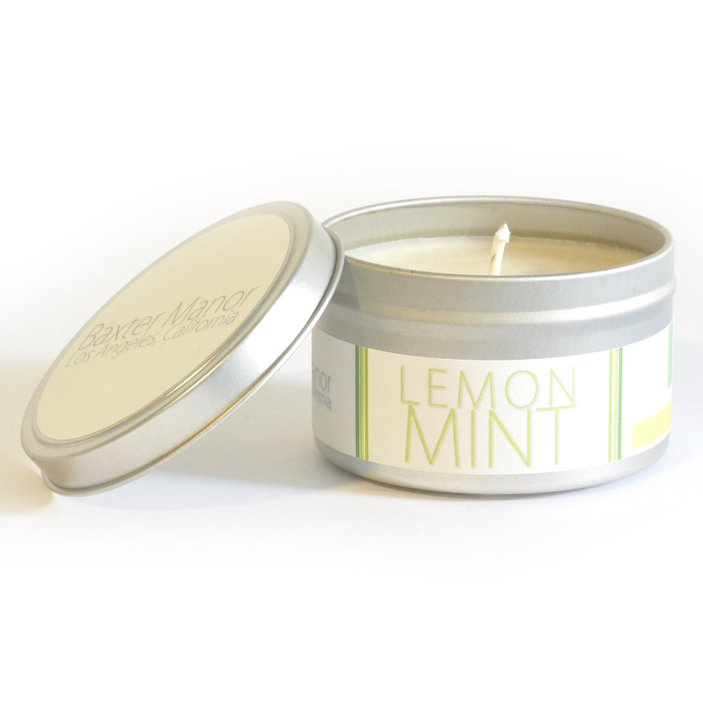 Baxter Manor - Modern Candle - Lemon Mint - angelo:HOME