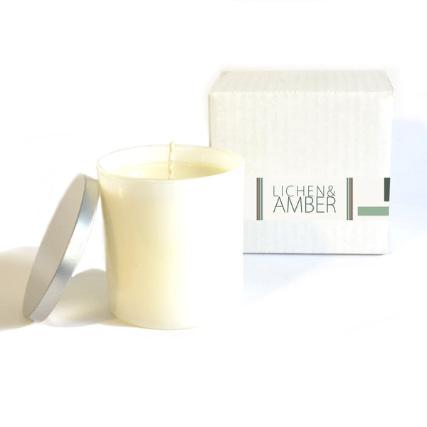 Baxter Manor - Modern Candle - Lichen and Amber - angelo:HOME