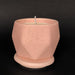 e.baran - Limited Edition Handmade Pottery Candle - Hex Mug - Rose Pedals - angelo:HOME