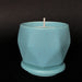 e.baran - Limited Edition Handmade Pottery Candle - Hex Mug - Blue Spruce - angelo:HOME