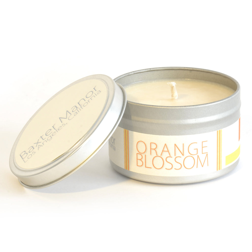 Baxter Manor - Modern Candle - Orange Blossom - angelo:HOME