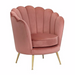 angelo:HOME Arm Chair - Twila in Raspberry