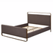 angelo:HOME Upholstered Queen Bed Frame - Doreen - Grey