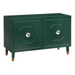 angelo:HOME TV Console/Buffet Cabinet - Jaslene (green)