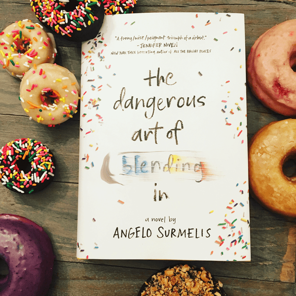 The Dangerous Art of Blending In (signed copy) - angelo:HOME