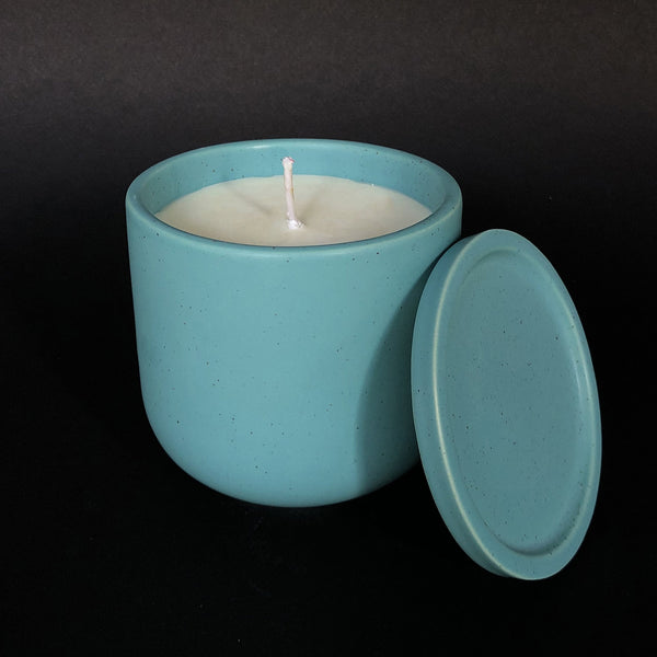 e.baran - Limited Edition Handmade Pottery Candle - Tumbler - Holiday Hearth - angelo:HOME