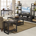 "angelo:HOME City Grove 48"" Coffee Table in Charcoal"