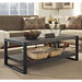 "angelo:HOME City Grove 48"" Coffee Table in Charcoal - angelo:HOME"