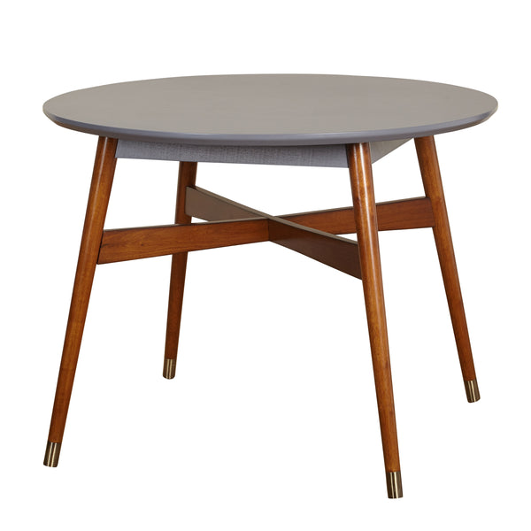 angelo:HOME Dining Table Mid-Century Grey