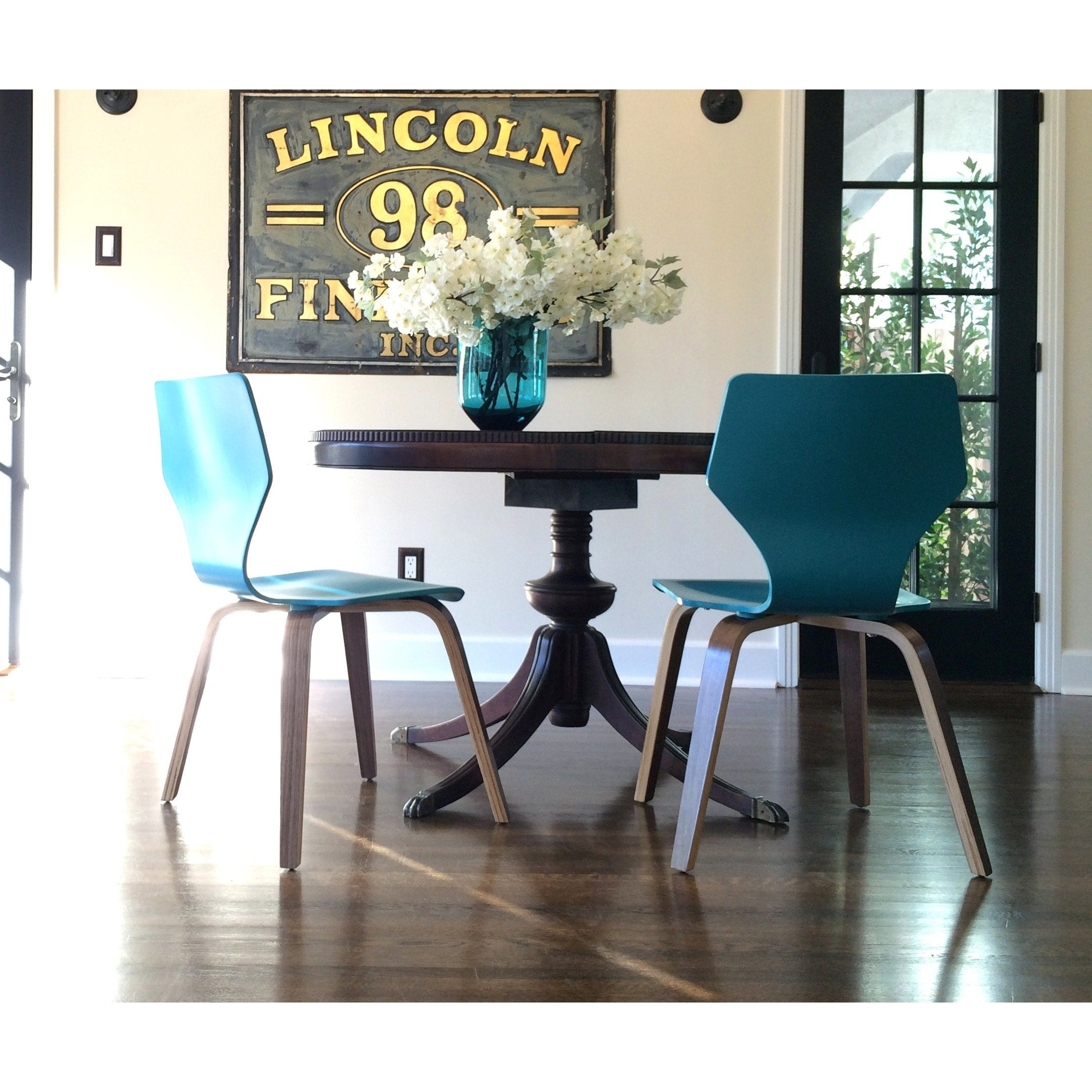 ... Angelo:HOME Bentwood Chairs In Turquoise (set Of 2)   Angelo:HOME