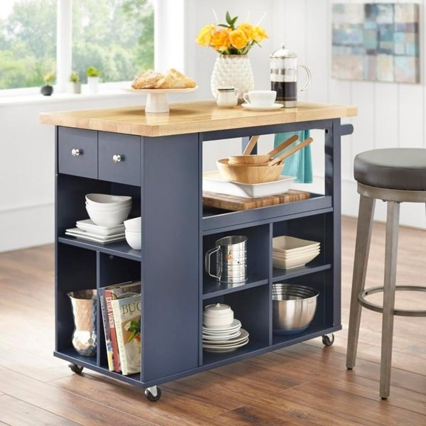angelo:HOME Kitchen Island/Cart - Boston - angelo:HOME