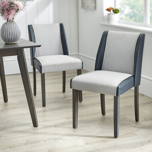 angelo:HOME Dining Chairs - Grayson  set of 2 (grey)