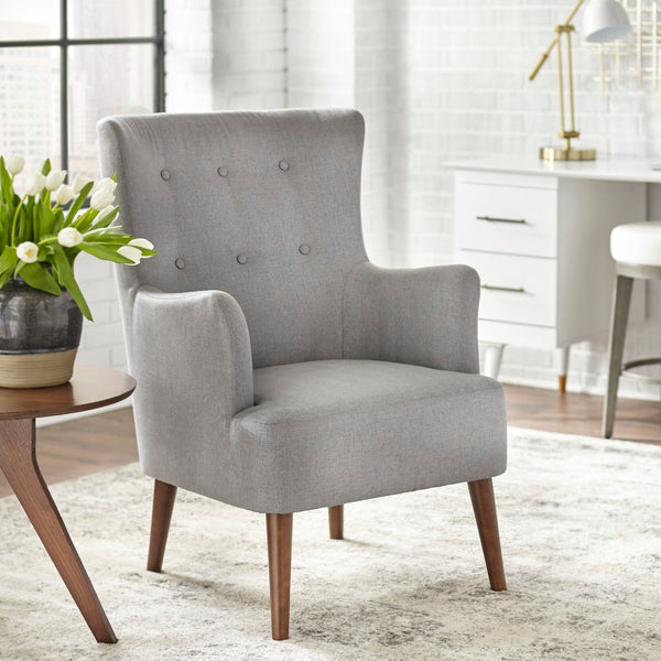 angelo:HOME Arm Chair - Jane (grey) - angelo:HOME
