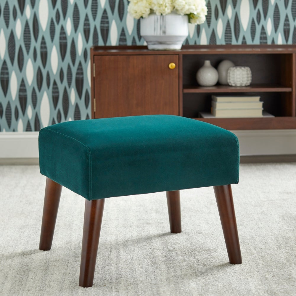 angelo:HOME Ottoman - Jane in Green
