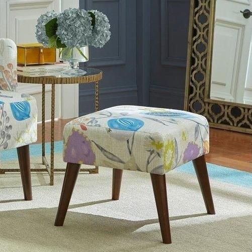 angelo:HOME Ottoman - Jane in Floral