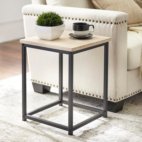 angelo:HOME End Table - Lander (weathered)