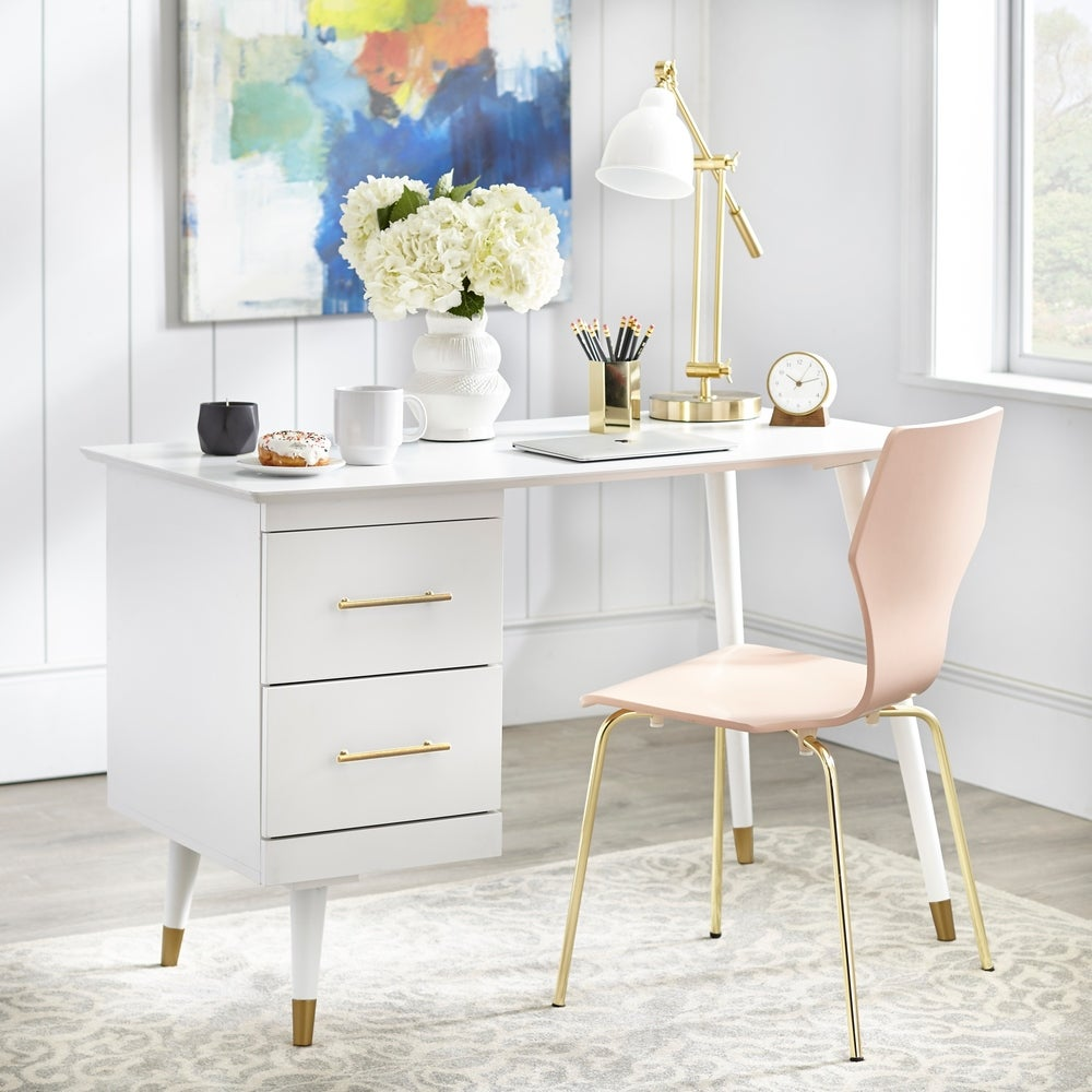 angelo:HOME Desk - Leon (White) - angelo:HOME