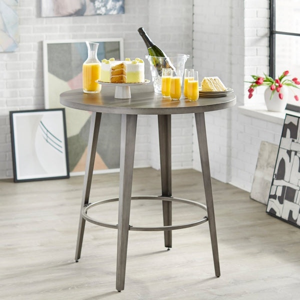 angelo:HOME Dining Table - Counter Height - Linden (Grey) - angelo:HOME