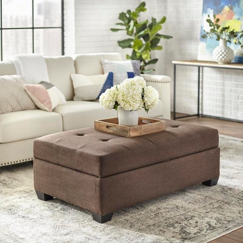 angelo:HOME Ottoman/Stool/Table - Lucent (brown)