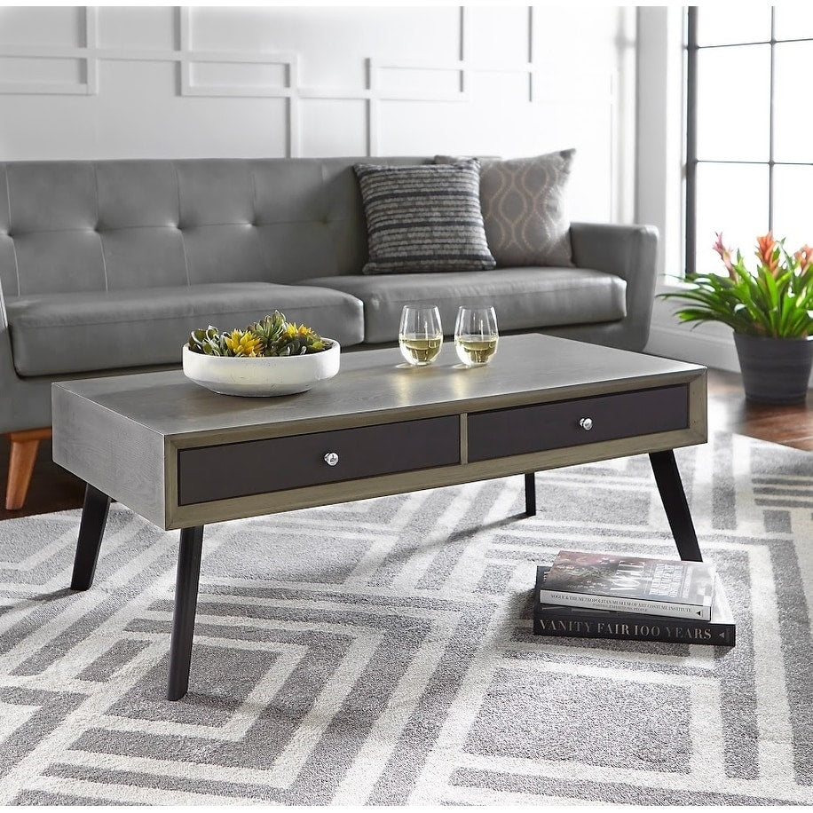 angelo:HOME Coffee Table - Maxwell (grey/black)