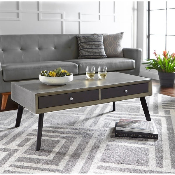 angelo:HOME Coffee Table - Maxwell (grey/black) - angelo:HOME