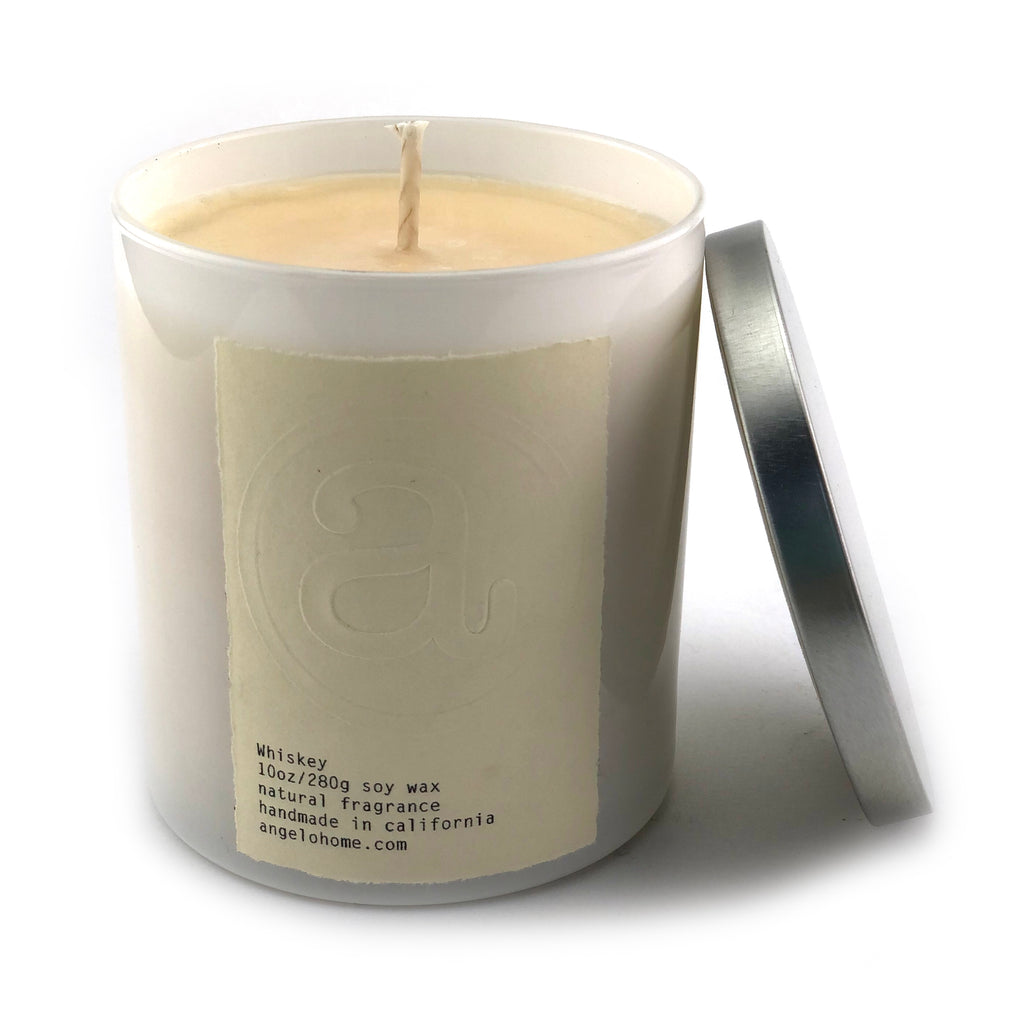 angelo:HOME Whiskey Scented Candle