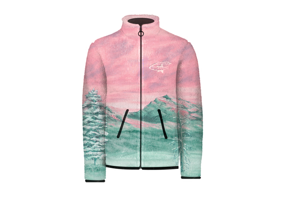 SNOWY SUNSET - FLEECE JACKET