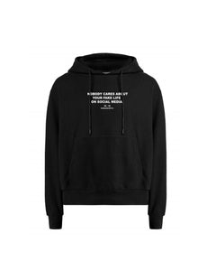 3# SUPERSALE - Nobody cares about your fake life on social media Hoodie