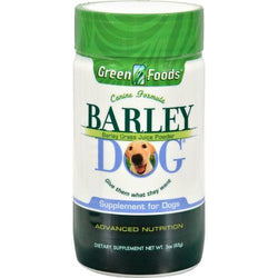 Green Foods All-Breed Formula Barley Dog Grass Juice - 3 oz