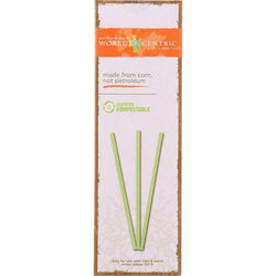 World Centric Straws - 7.75 in - Compostable - 50 count - case of 24