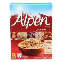 Alpen Original Muesli Cereal - Case of 1 - 14 oz.