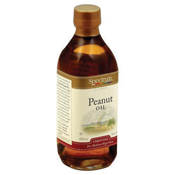 Spectrum Naturals Unrefined Peanut Oil - Case of 1 - 16 Fl oz.