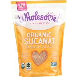 Wholesome Sweeteners Dehydrated Cane Juice - Organic - Sucanat - 1 lb - case of 12