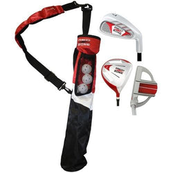 MOG 3 Piece Red Zone Jr Tube Golf Set RH Ages 5-7