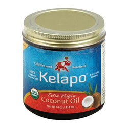 Kelapo Extra Virgin Coconut Oil - Case of 6 - 14 oz.