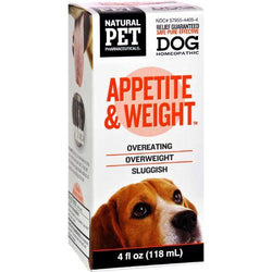 King Bio Homeopathic Natural Pet Dog - Appetite and Weight - 4 oz