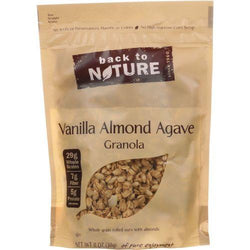 Back To Nature Granola - Vanilla Almond Agave - 11 oz - case of 6