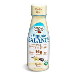 Organic Valley Balance Milk Protien Shake - Vanillla - Case of 12 - 11oz Bottle