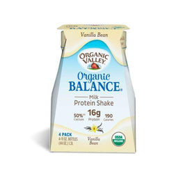 Organic Valley Balance Milk Protien Shake - Vanilla - Case of 3 - 4/11oz Bottle