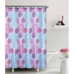 Cameron Embossed Microfiber Shower Curtain- 72
