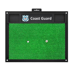 US Coast Guard Armed Forces Golf Hitting Mat (20in L x 17in W)