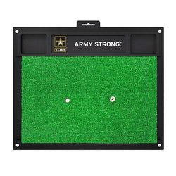 US Army Armed Forces Golf Hitting Mat (20in L x 17in W)