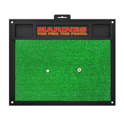 US Marines Armed Forces Golf Hitting Mat (20in L x 17in W)
